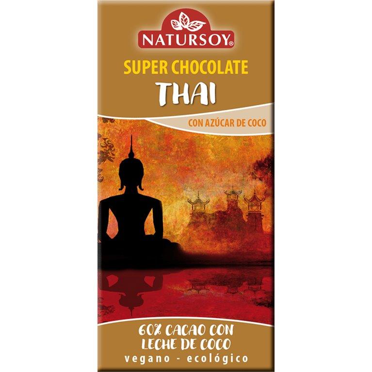 Super Chocolate Thai Bio 100g, 1 ud
