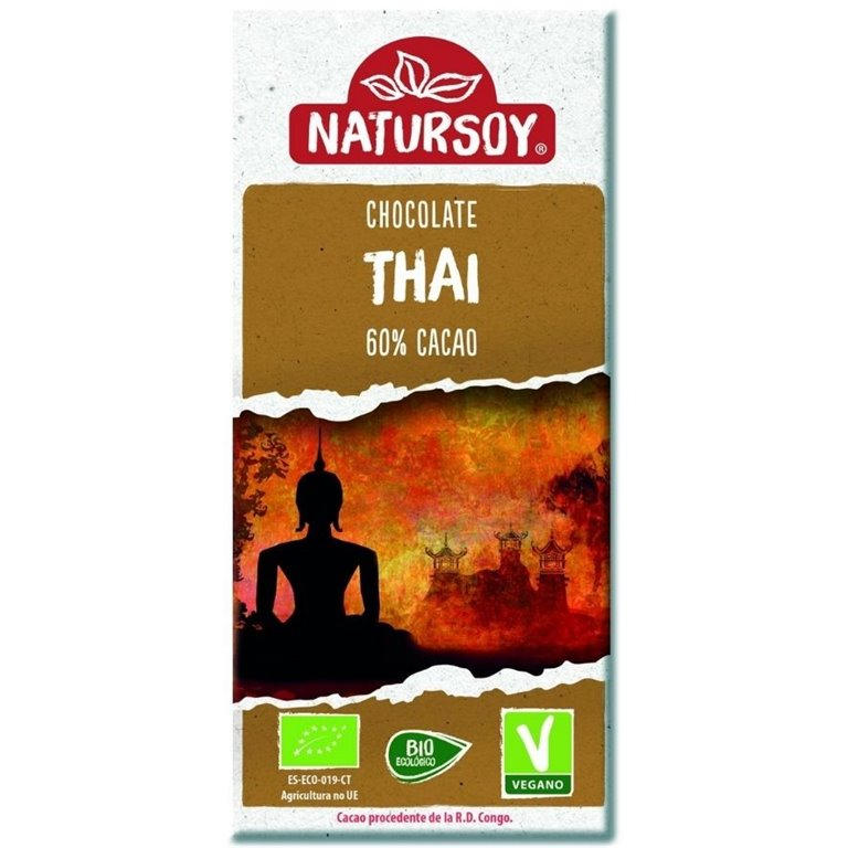 Super Chocolate Thai con Leche de Coco Bio 100g