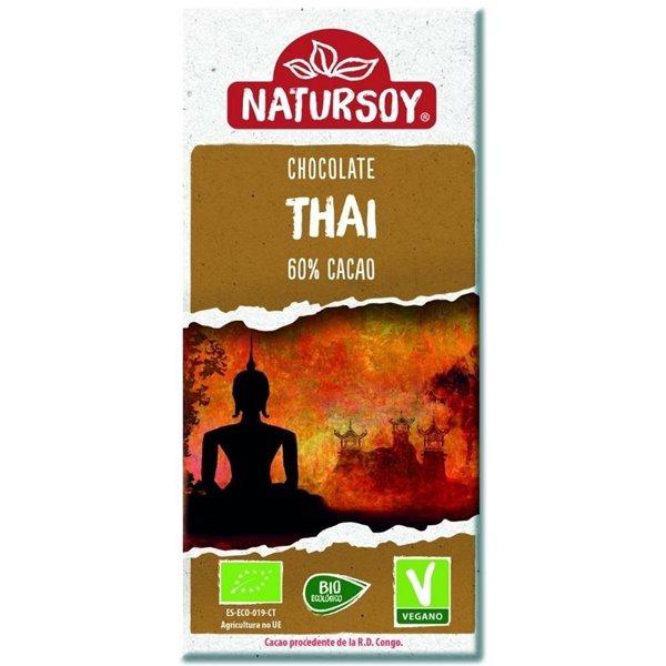 Super Chocolate Thai con Leche de Coco Bio 100g