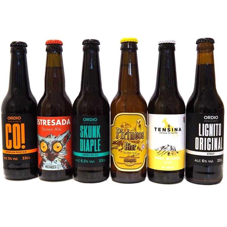 Surtido Cervezas Artesanas