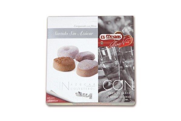 Surtido de mantecados, polvorones y roscos sin azúcar añadido (350 gr)