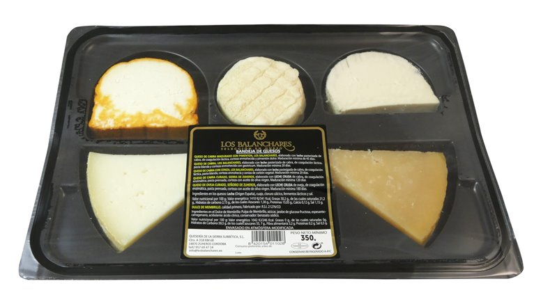 Assortment of Cheeses (5 types) - 300 g.