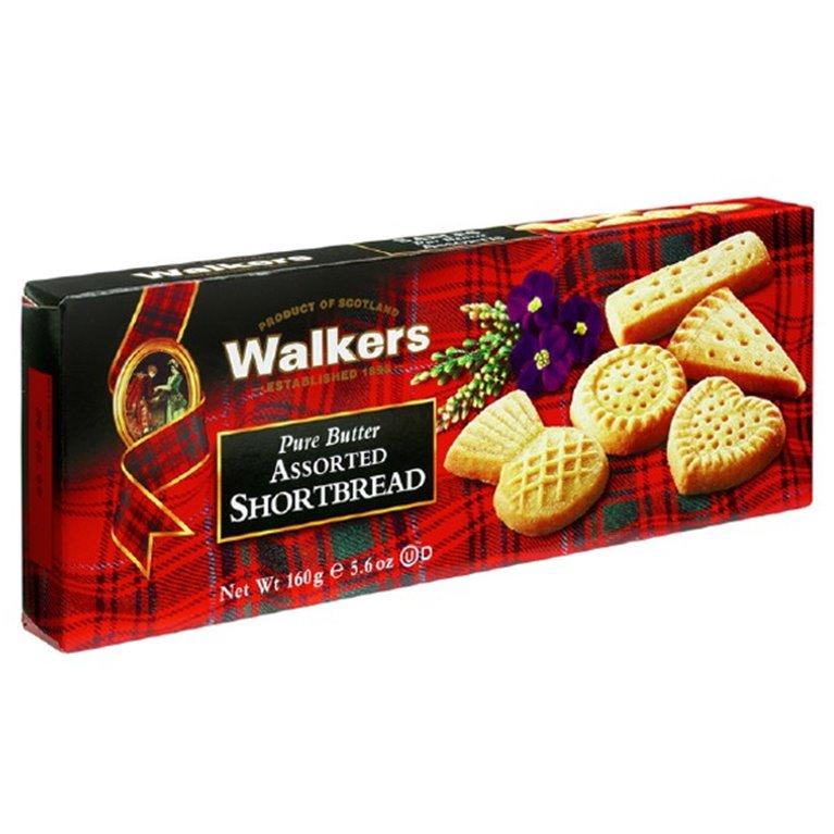 Surtido Shortbreads de Mantequilla 160gr. Walkers. 12un., 1 ud