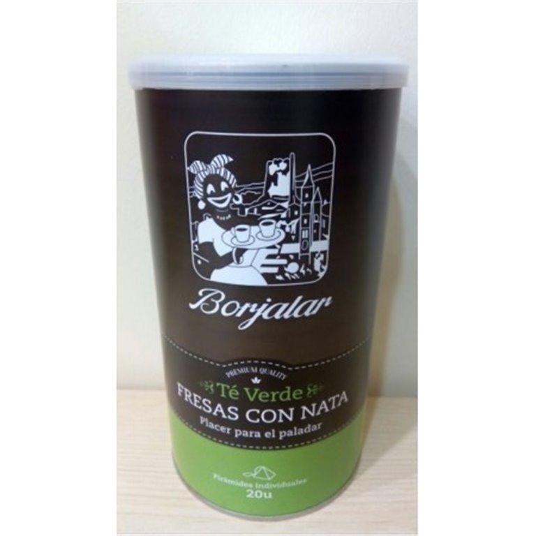 Té verde Fresas con Nata Borjalar, 1 ud