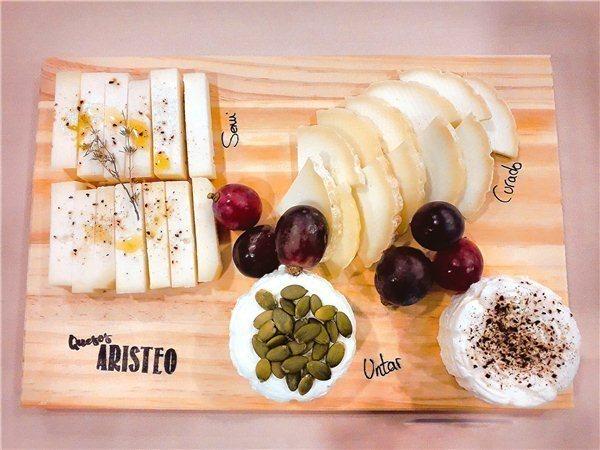 Tabla de quesos Aristeo