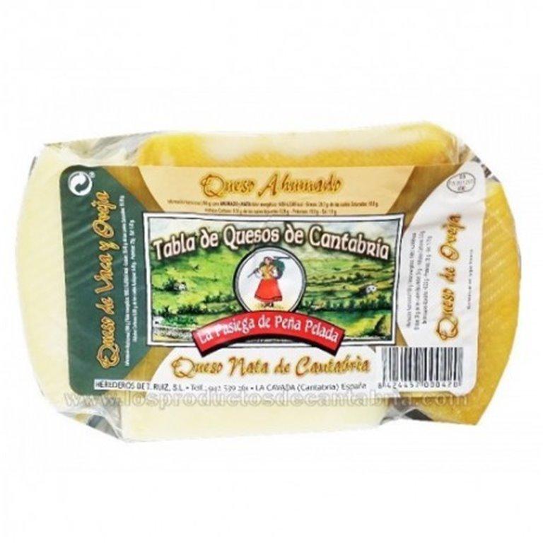 Tabla de quesos de Cantabría