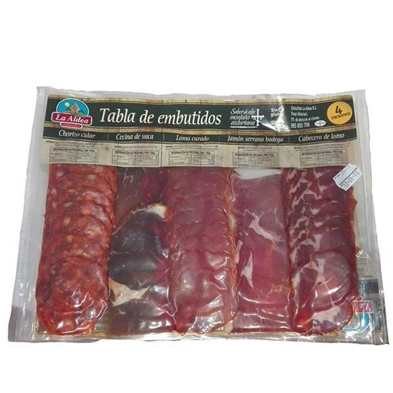 Tabla Embutidos Asturianos