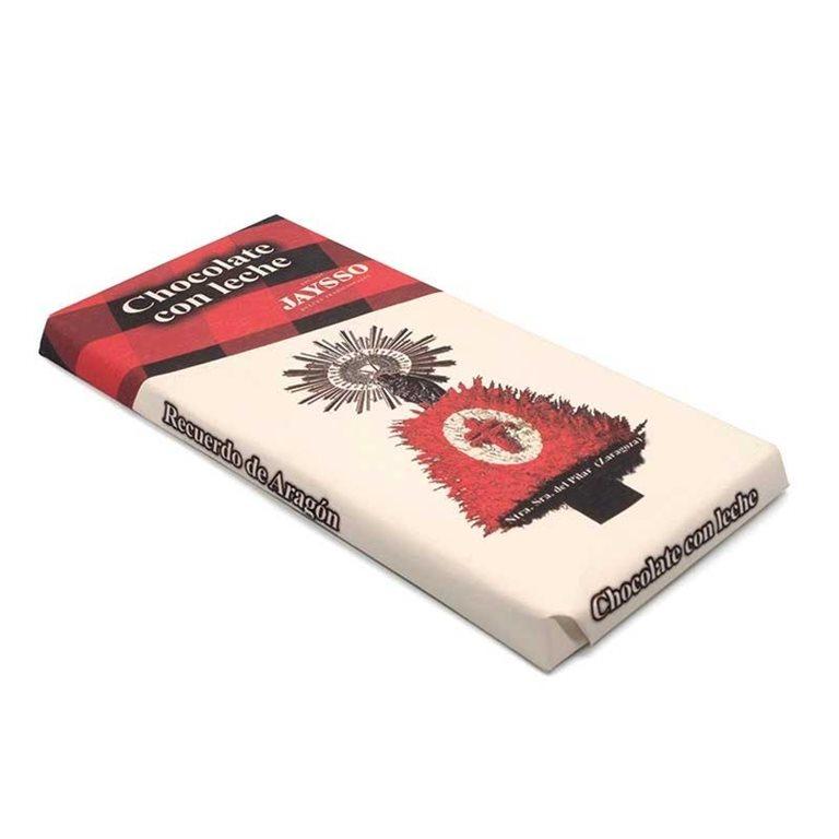 Tableta Chocolate con Leche 125gr Jaysso