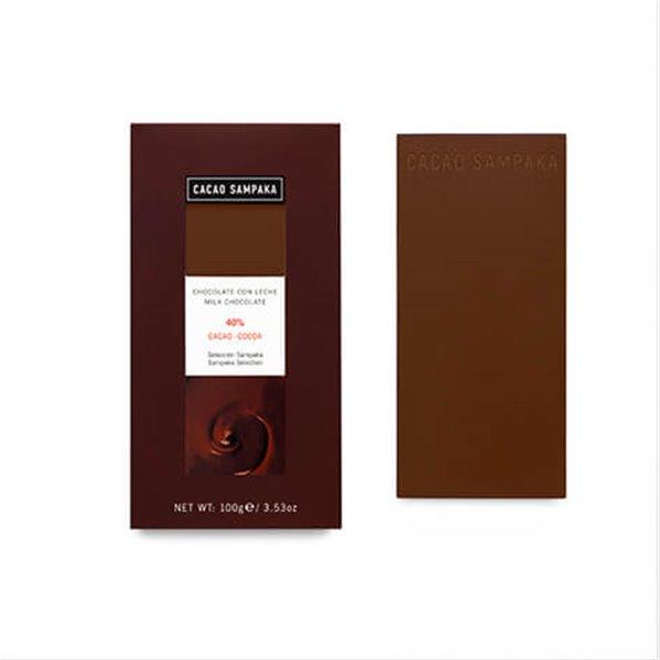 Tableta chocolate con leche 40%