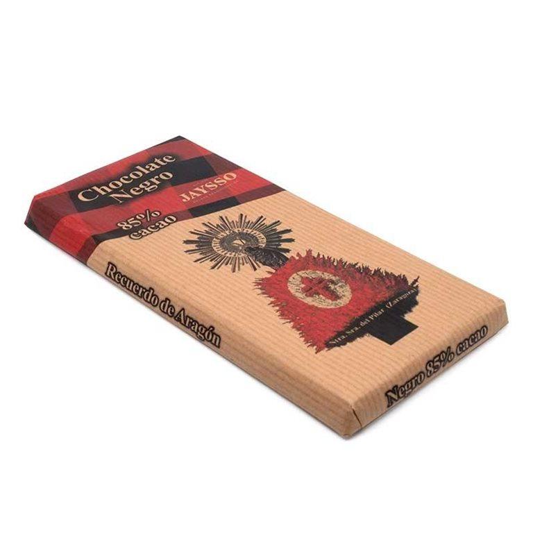Tableta Chocolate Negro 125gr Jaysso