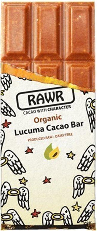Tableta Crudivegana de cacao y lúcuma, 80 gr