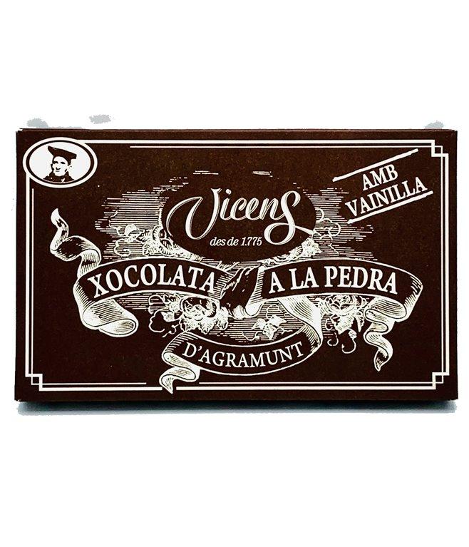 Tableta de chocolate a la piedra
