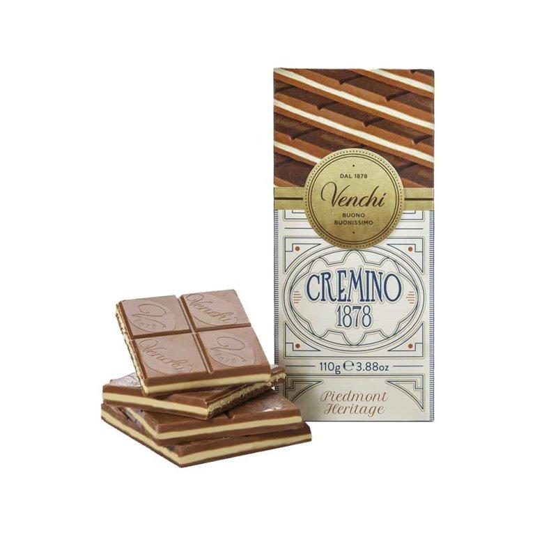 Tableta de chocolate Cremino 1878 110g Venchi