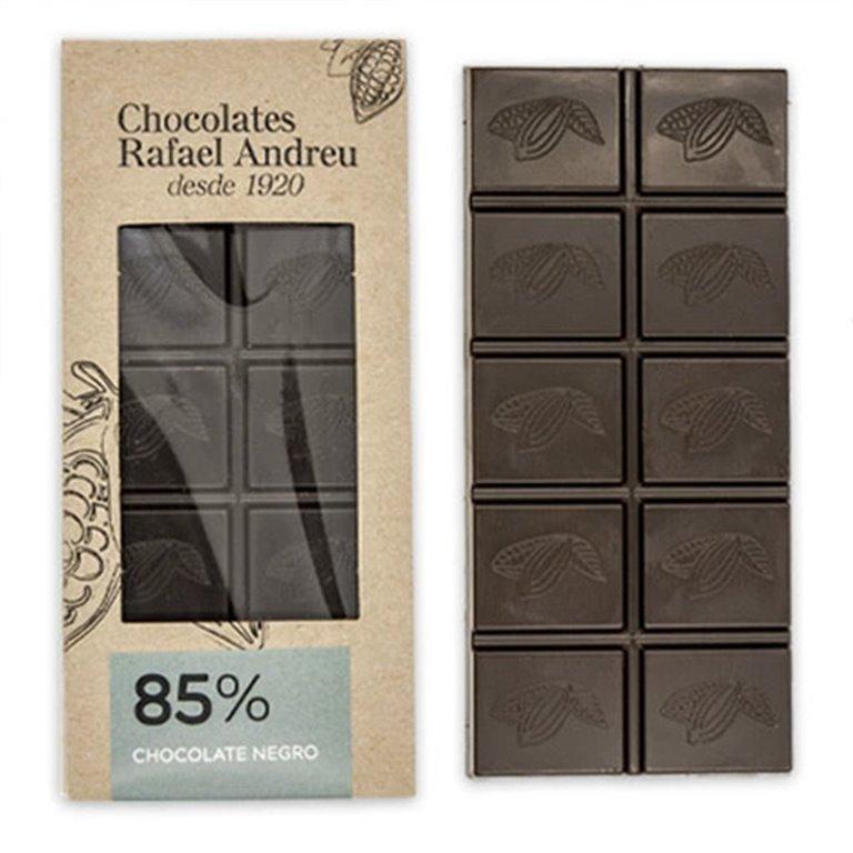 Tableta de chocolate negro al 85%