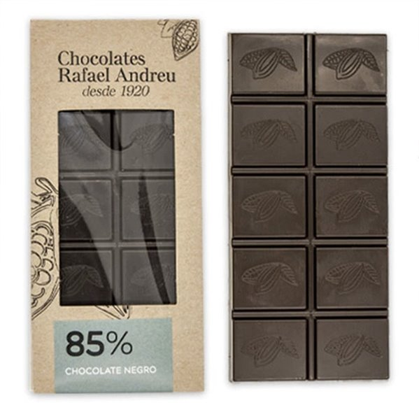 Tableta de chocolate negro al 85%
