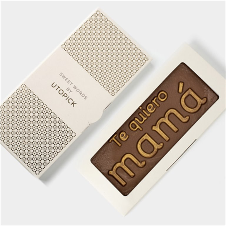 "Tableta de chocolate ""Te quiero mamá"""