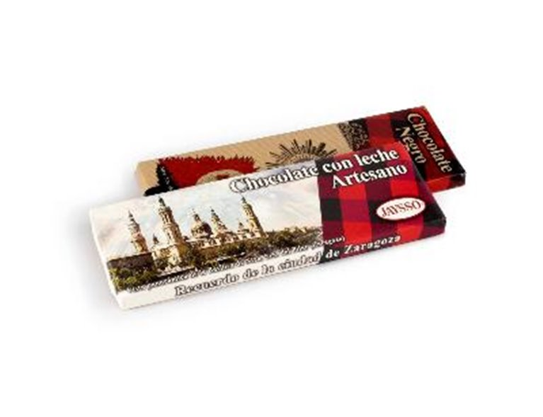 Tabletón de chocolate puro 500gr Jaysso, 1 ud