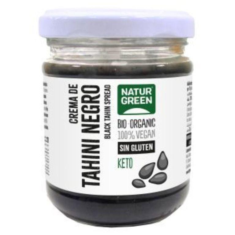 Tahin Negro Crudo Bio 180g