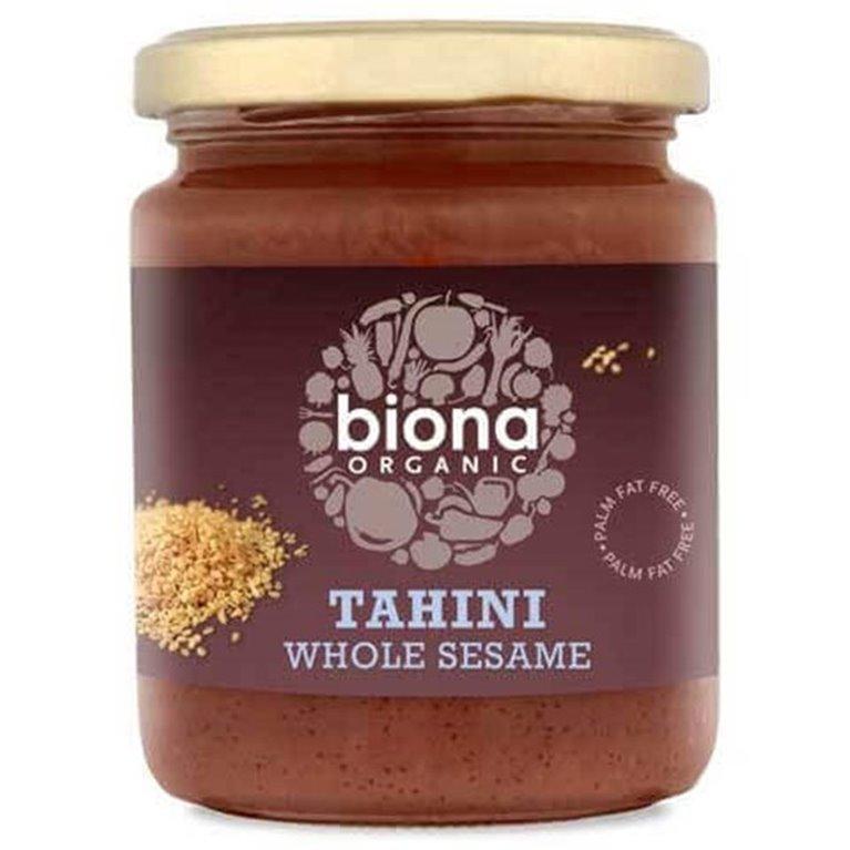 Tahini BIO de sésamo entero con sal (Demeter) - Biona