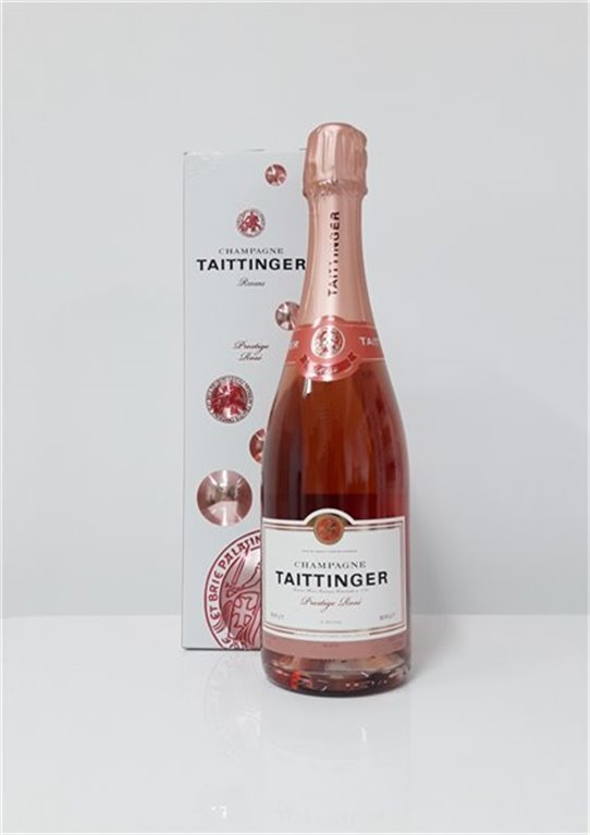 TAITTINGER PRESTIGE ROSE, 0,75 l