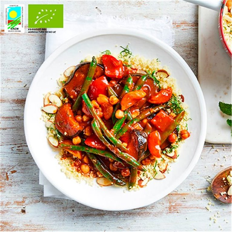 Organic vegan Moroccan Tajine