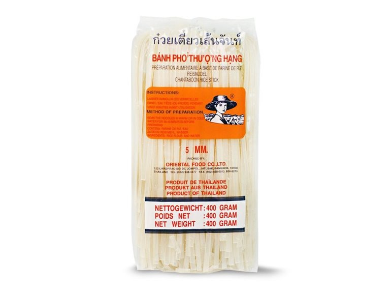 Tallarines de arroz 5mm - 400g