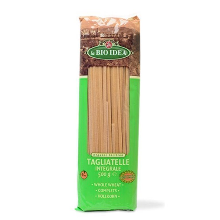 Tallarines de trigo integral, 500 gr
