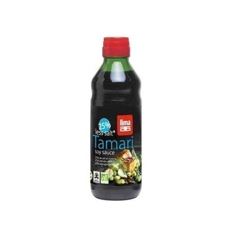 Tamari Sin Gluten 25% Menos Sal, 1 ud