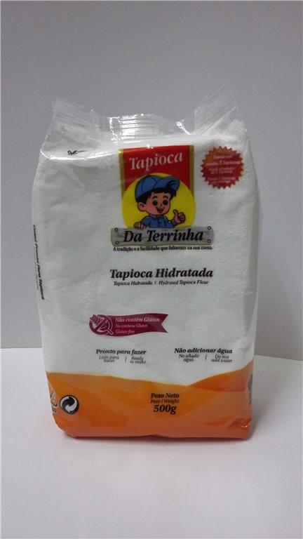 TAPIOCA HIDRATADA DA TERRINHA 500 GR