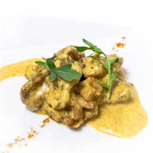 Taquitos de pollo al curry