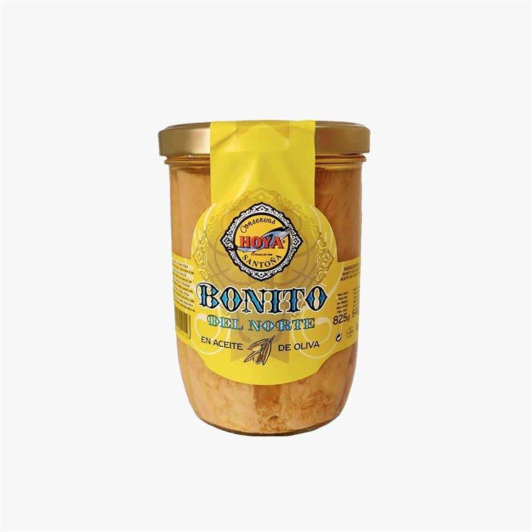 Jar of white tuna in olive oil 825 g. Hoya