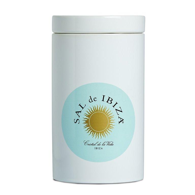 Tarro cerámica para sal 1000gr. Sal de Ibiza. 6un., 1 ud