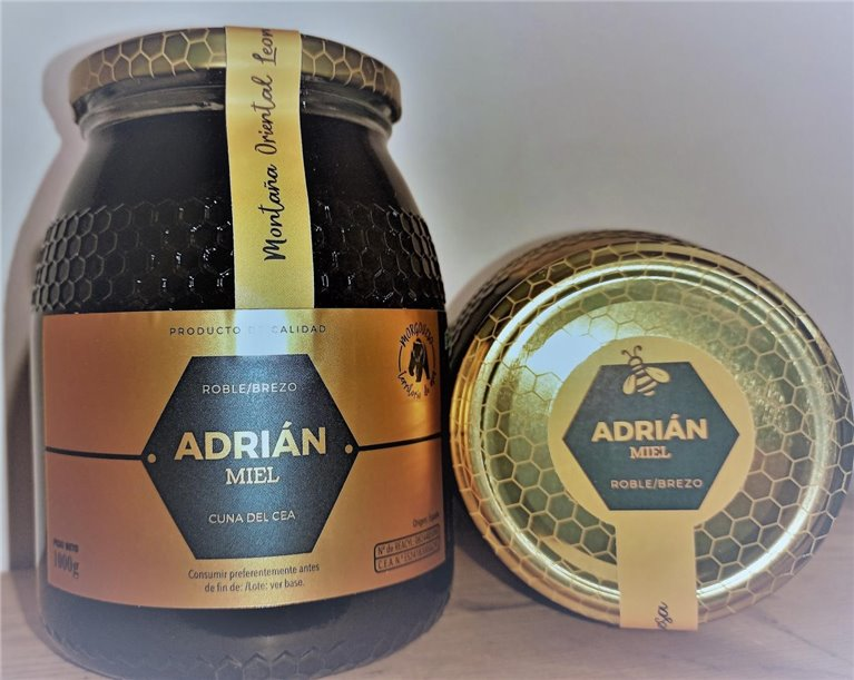 Tarro de Miel de Roble-Brezo ADRIAN