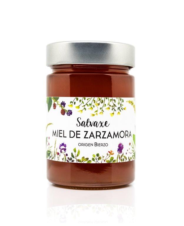 Tarro de Miel ecológica de Zarzamora 485 gr SALVAXE