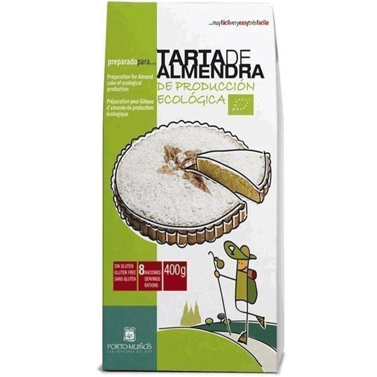 Tarta de almendra Ecológica (Preparado), 200 gr