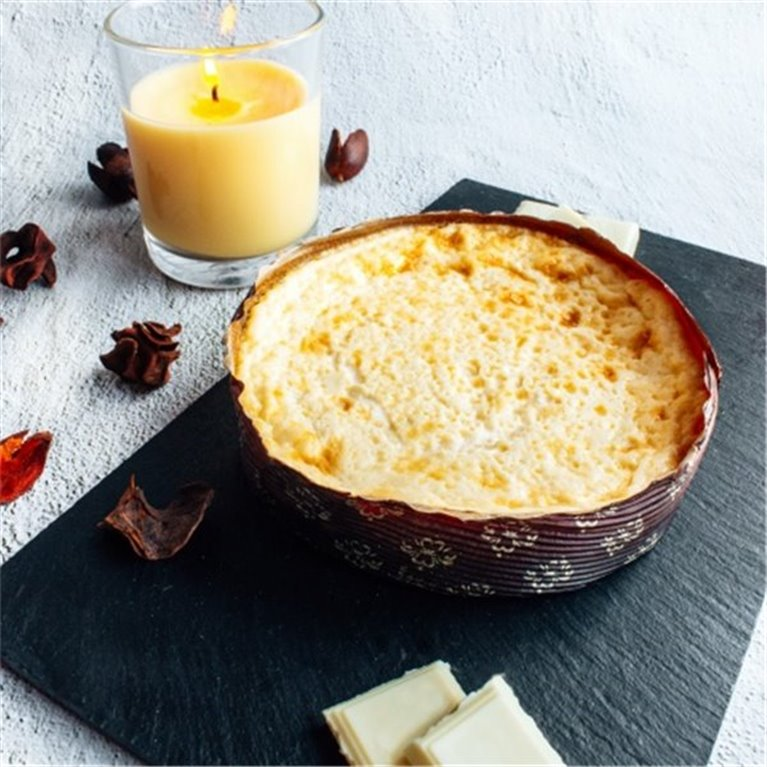 CALLEBAUT white chocolate cheesecake (300gr/350gr portion)
