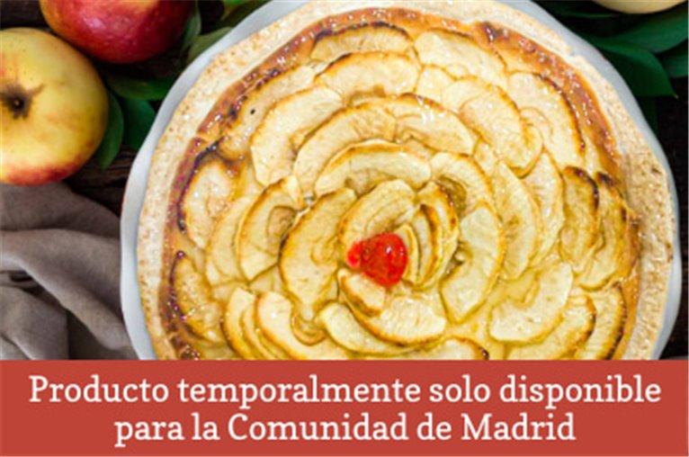 Tarta natural de manzana (800gr aprox.)