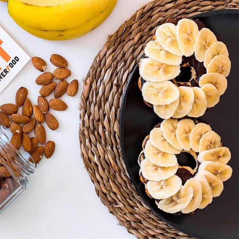 TartaFit con Plátano