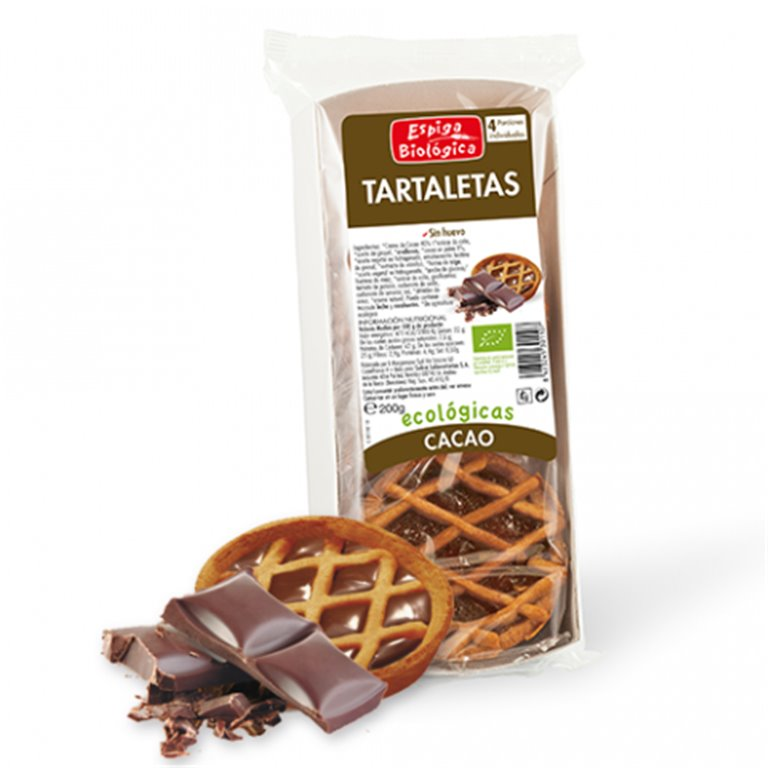 Tartaletas Cacao Bio 200g
