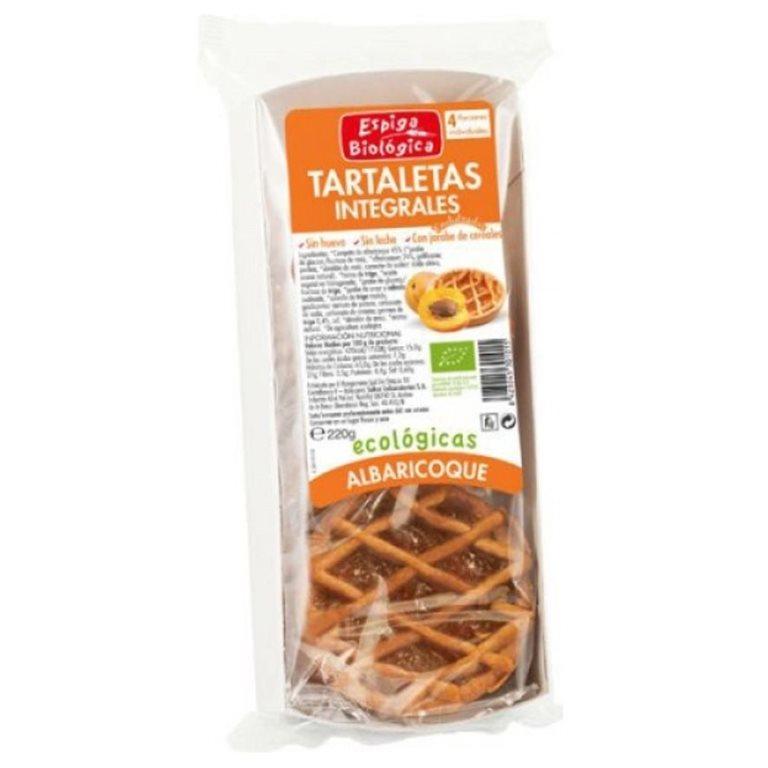Tartaletas de Espelta con Albaricoque Bio 200g