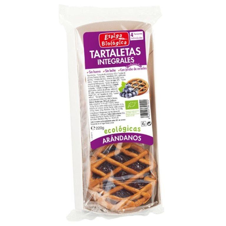 Tartaletas de Espelta con Arándanos Bio 200g