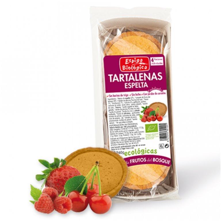 Tartaletas de Espelta con Frutos del Bosque Bio 240g