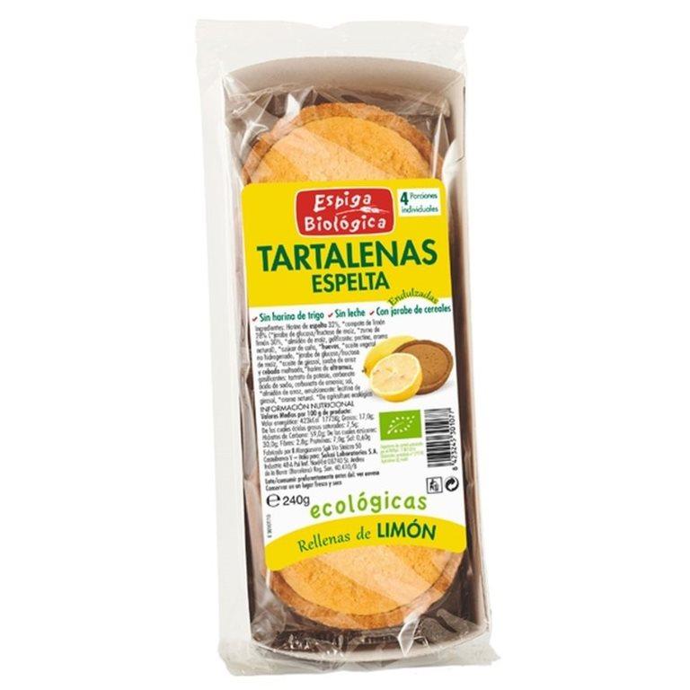 Tartaletas de Espelta con Limón Bio 240g