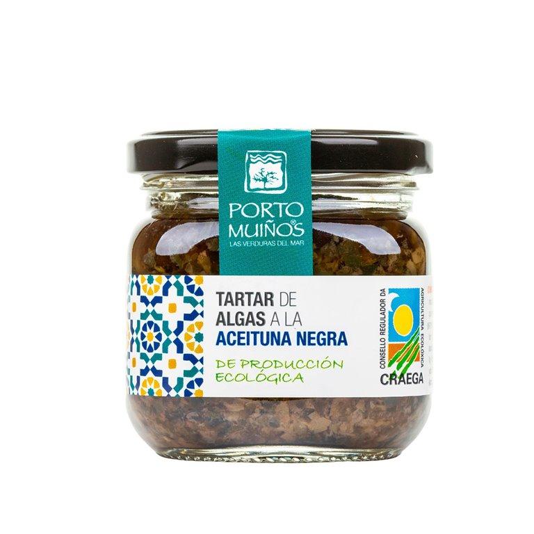 Tartar de Algas a la Aceituna Negra, 1 ud
