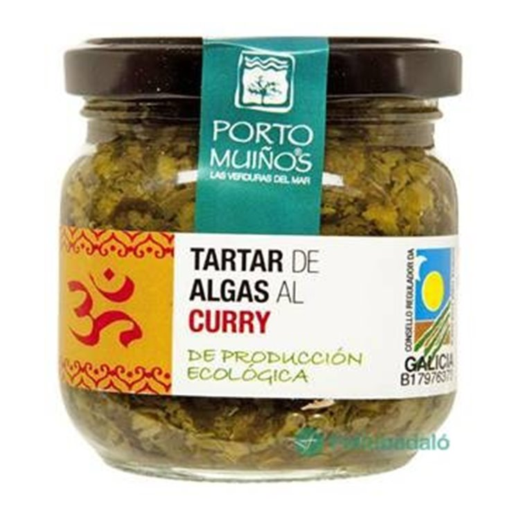Tartar de Algas al Curry Bio 165g