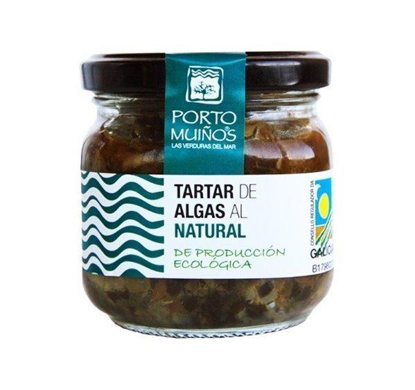 Tartar de algas al natural