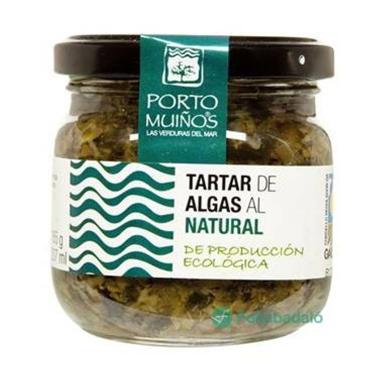 Tartar de Algas al Natural Bio 165g