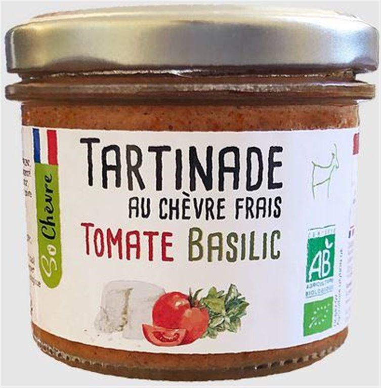 Goat cheese spread - Tomato/Basilic