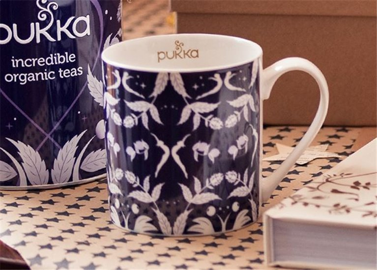 Taza Mug Winter Collection Purpura, 1 ud