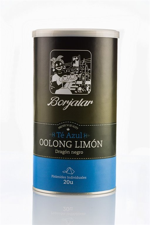 Té azul Oolong Limón Borjalar